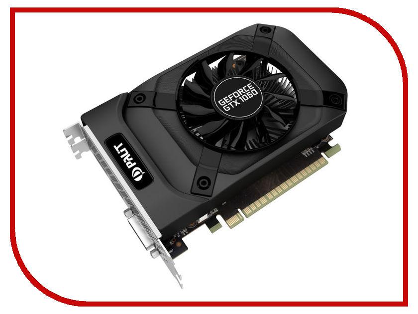 Видеокарта Palit GeForce GTX 1050 StormX 1354Mhz PCI-E 3.0 2048Mb 7000Mhz 128 bit DVI HDMI HDCP NE5105001841-1070F видеокарта 4096mb palit geforce gtx1050ti stormx pci e pa gtx1050ti stormx 4g retail ne5105t018g1 1070f