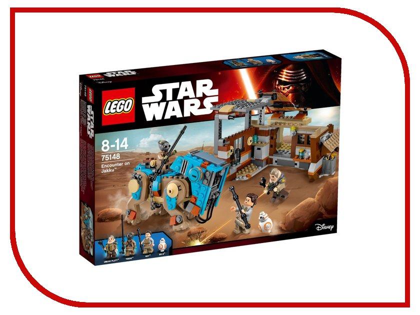 Конструктор Lego Star Wars Столкновение на Джакку 75148 конструктор lele star wars темная сторона 16шт 8 видов 35001