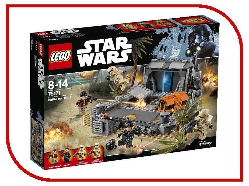Конструктор Lego Star Wars Битва на Скарифе 75171 lego lego star wars 75092 истребитель набу™ naboo starfighter™