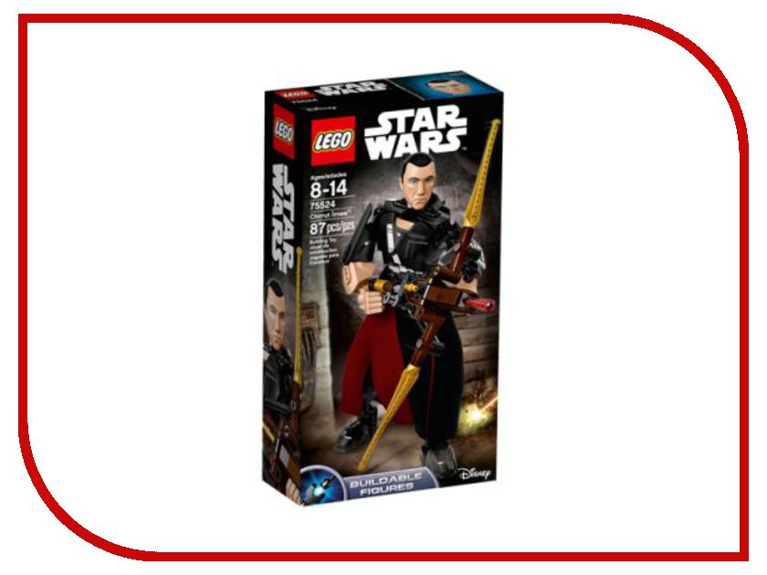 Конструктор Lego Star Wars Чиррут Имве 75524 lego star wars фигурка конструктор финн 75116