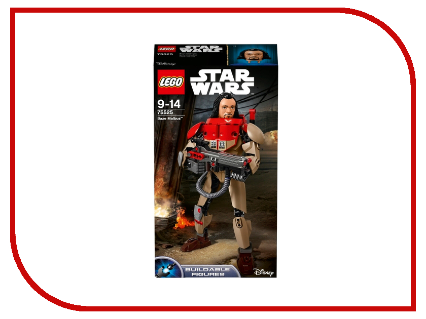 Конструктор Lego Star Wars Бэйз Мальбус 75525 new model building kits compatible with lego star wars cannon armored truck 3d blocks educational toys hobbies for children