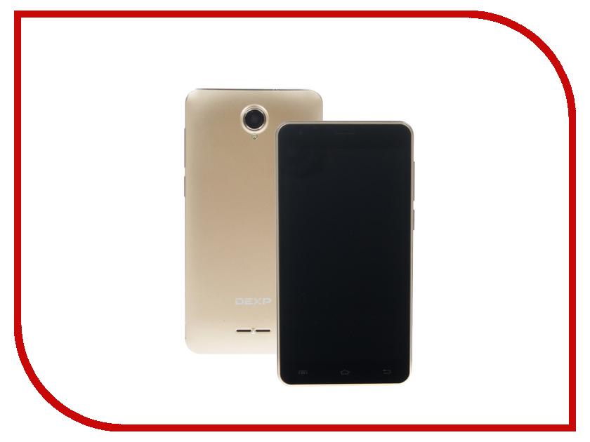 Сотовый телефон DEXP Ixion ES355 Ice Gold сотовый телефон dexp ixion x250 octava black