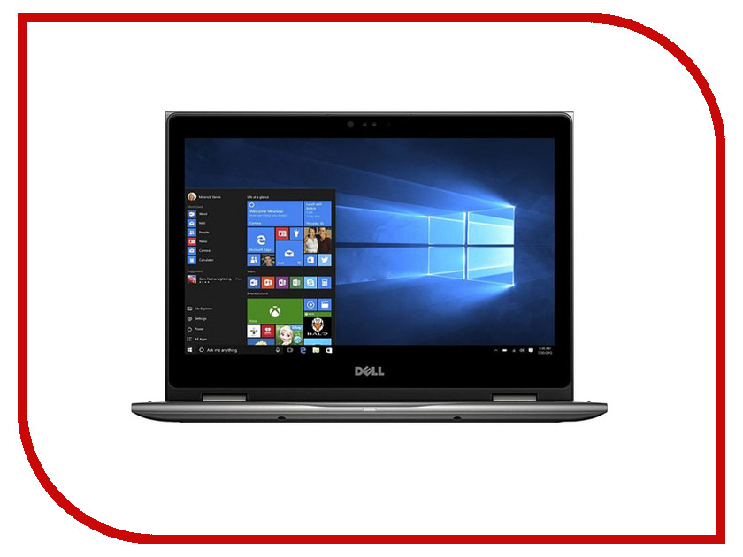 Ноутбук Dell Inspiron 5378 5378-7841 (Intel Core i3-7100U 2.4 GHz/4096Mb/1000Gb/No ODD/Intel HD Graphics/Wi-Fi/Cam/13.3/1920x1080/Touchscreen/Windows 10 64-bit) ноутбук трансформер dell inspiron 5378 13 3 intel core i5 7200u 2 5ггц 8гб 256гб ssd intel hd graphics 620 windows 10 home 5378 0384 серый