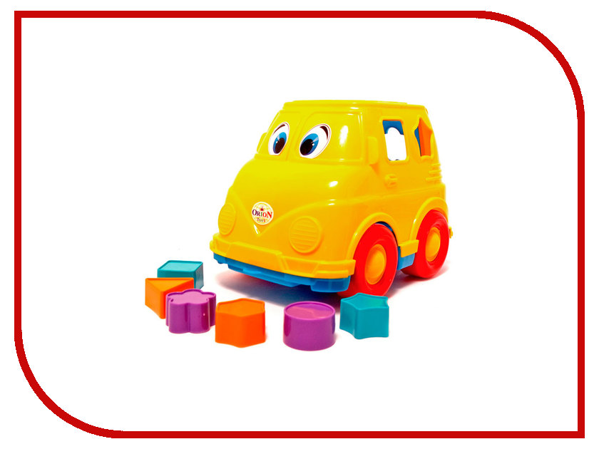 Сортер Orion Toys Микроавтобус 195 как и где купить микроавтобус