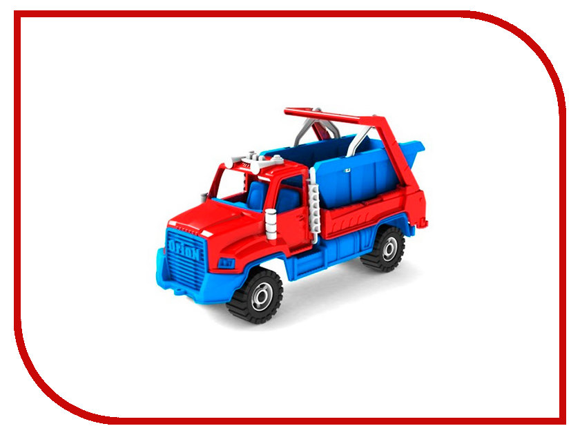 Машина Orion Toys Камакс Коммунальная 772 мусоровоз orion камакс мусоровоз 765 разноцветный в ассортименте