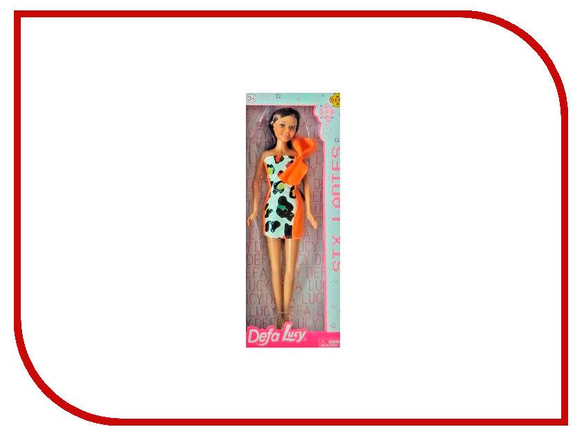 Кукла Defa Lucy Модная с бантом Orange 8316OR кукла defa lucy модная green