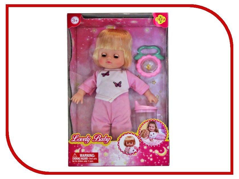 Кукла Defa Lucy Любимый малыш Pink 5063PK кукла defa lucy модная white orange 8316st