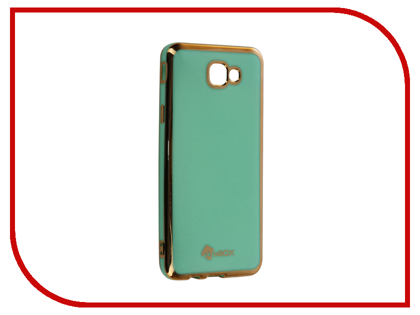 Аксессуар Чехол Samsung Galaxy J5 Prime/On5 (2016) SkinBox Mint T-S-SGJ5Pn-005 аксессуар чехол samsung galaxy j5 prime g570 gecko white s g sgj5pr wh