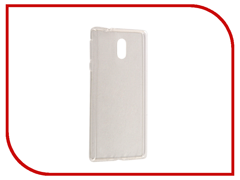 Аксессуар Чехол Nokia 3 SkinBox Slim Silicone Transparent T-S-N3-005