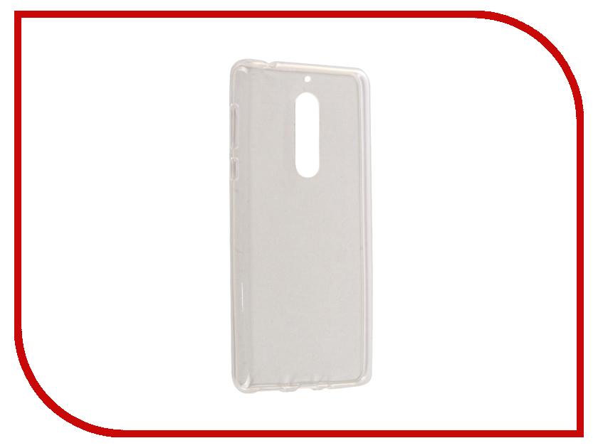 Аксессуар Чехол для Nokia 5 SkinBox Slim Silicone Transparent T-S-N5-005