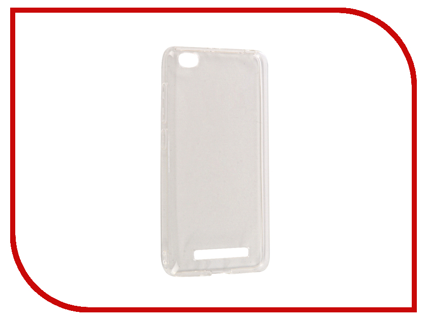 Аксессуар Чехол Xiaomi Redmi 4A SkinBox Slim Silicone 4People Transparent T-S-XR4A-005 аксессуар чехол xiaomi redmi 4a borasco silicone