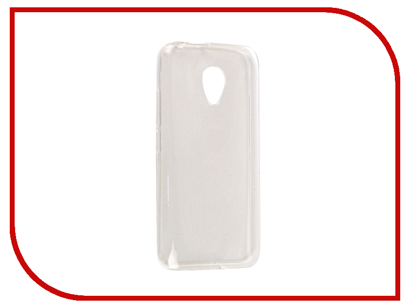 Аксессуар Чехол Fly FS407 Stratus 6 SkinBox Silicone Case Transparent T-S-FFS407-005