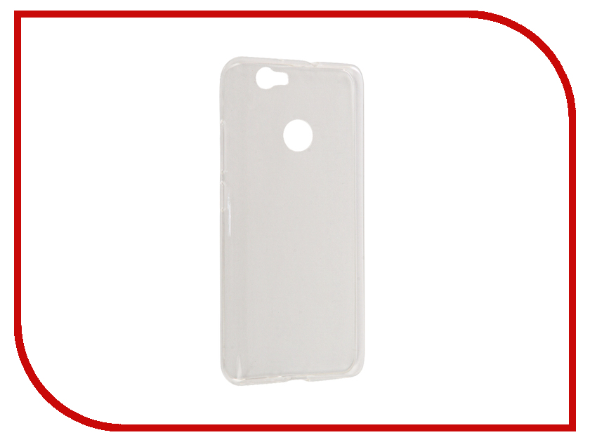 Аксессуар Чехол Huawei Nova SkinBox Slim Silicone Transparent T-S-HN-006 skinbox slim silicone чехол для huawei p9 plus clear