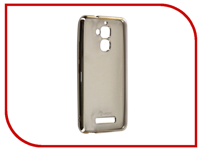 Аксессуар Чехол ASUS Zenfone 3 Max ZC520TL SkinBox Silicone Chrome Border 4People Silver T-S-AZC520TL-008 отзывы надувной матрас intex