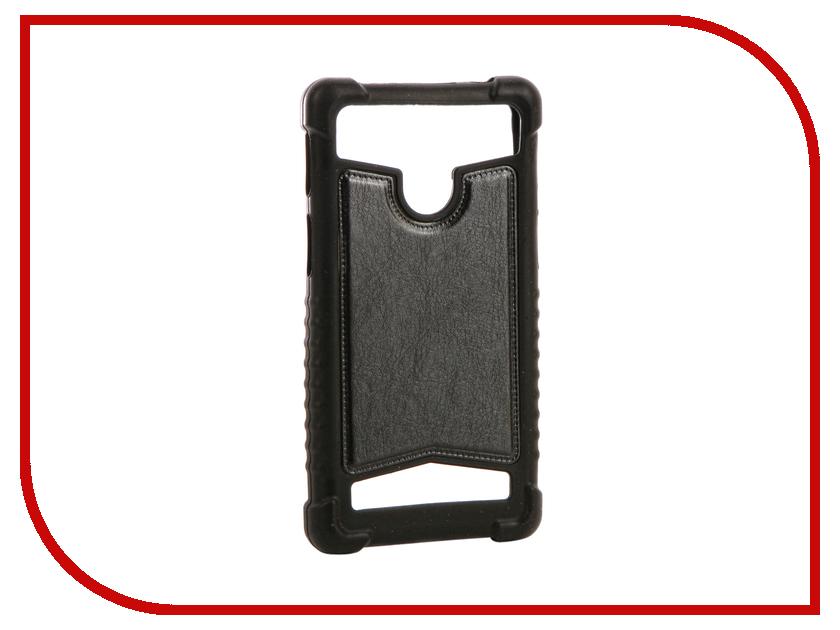 Аксессуар Чехол SkinBox Universal 4.5-5.0-inch Black T-S-BU4.5-5.0