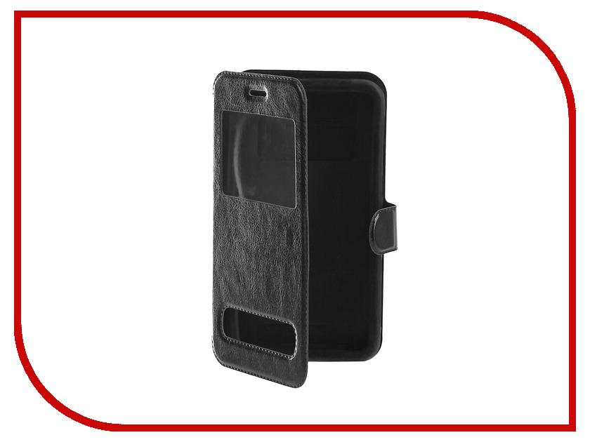Аксессуар Чехол SkinBox Universal 5.5-inch Black T-S-BU5.5