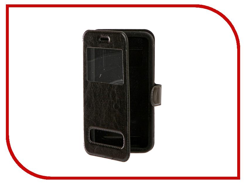 Аксессуар Чехол SkinBox Silicone Slide 5.0 Black T-S-U5.0-003