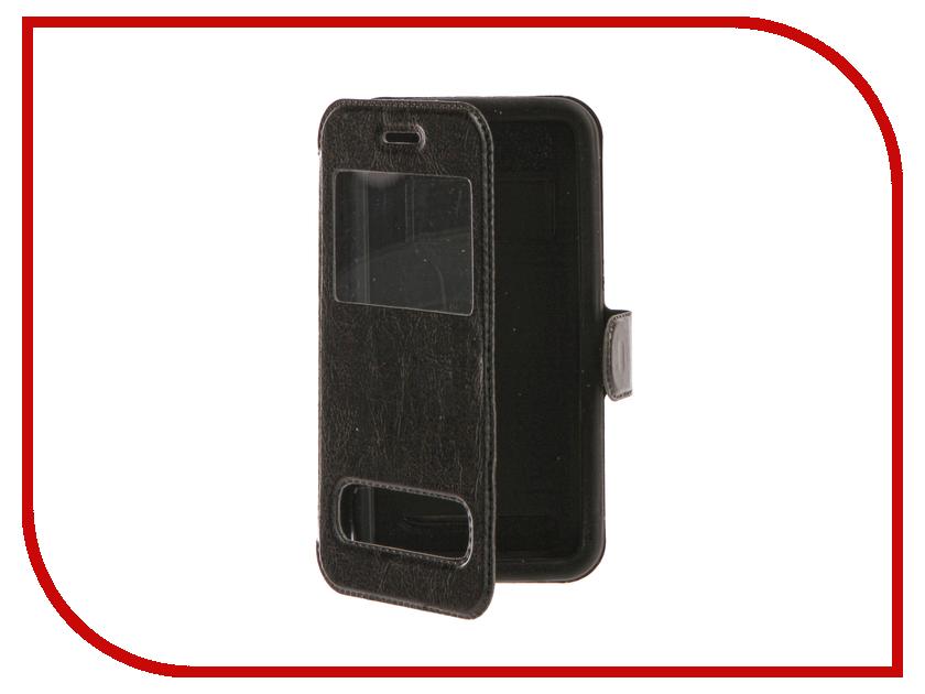 Аксессуар Чехол SkinBox Silicone Slide 4.5 Black T-S-U4.5-003