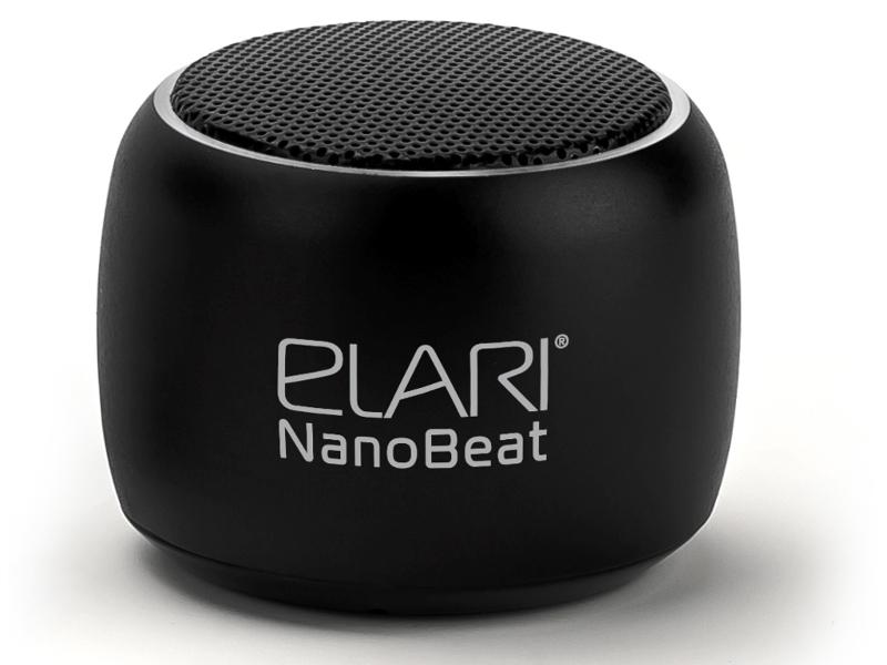 Колонка Elari NanoBeat Black — NanoBeat