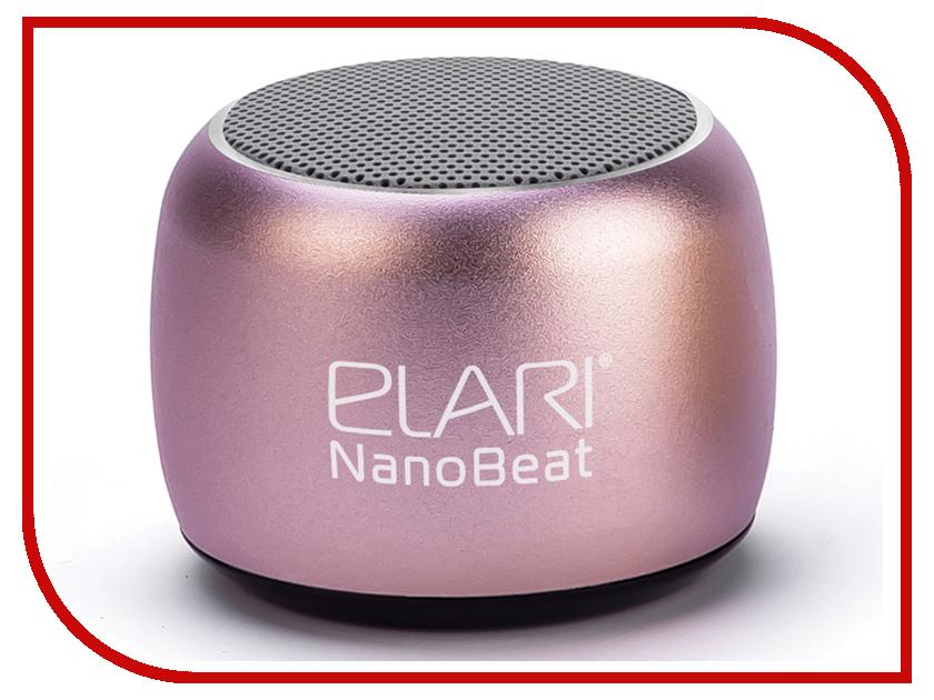 Колонка Elari NanoBeat Pink гаджет карт ридер elari smartcable