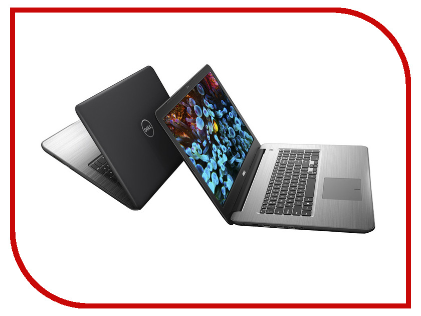 Ноутбук Dell Inspiron 5767 5767-3140 (Intel Core i5-7200U 2.5 GHz/8192Mb/1000Gb/DVD-RW/AMD Radeon R7 M445 4096Mb/Wi-Fi/Bluetooth/Cam/17.3/1920x1080/Linux) dell inspiron 3558