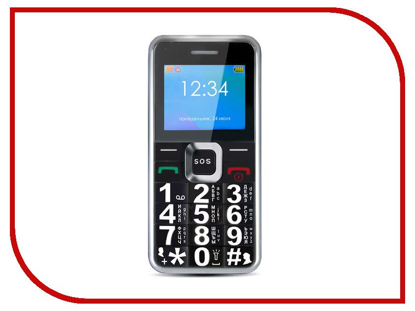 Сотовый телефон Ginzzu MB501 Black