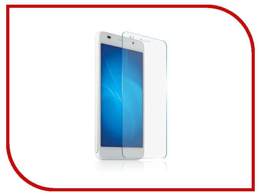 Аксессуар Защитная пленка Huawei Honor 6c LuxCase суперпрозрачная 51696