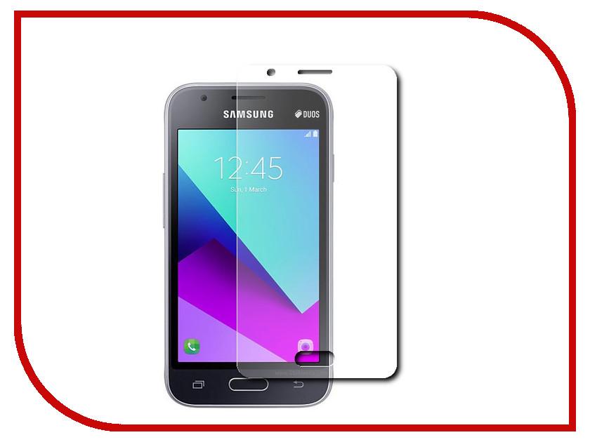 Аксессуар Защитная пленка Samsung Galaxy J1 Mini Prime 2016 LuxCase антибликовая 52581 аксессуар защитная пленка philips v526 luxcase антибликовая 50362