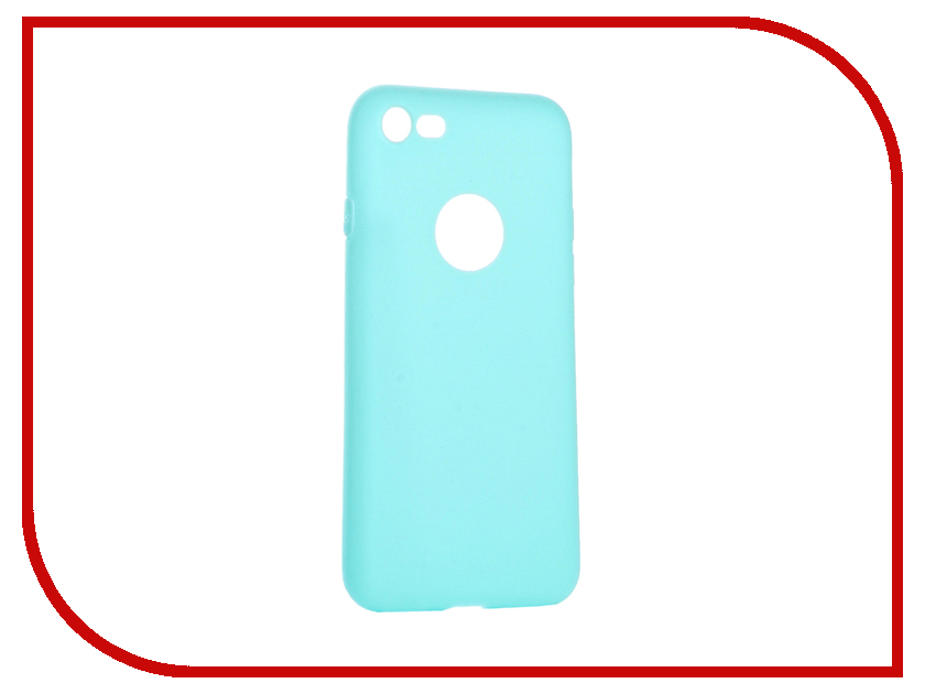 Аксессуар Чехол Krutoff Silicone для iPhone 7 Green 11825
