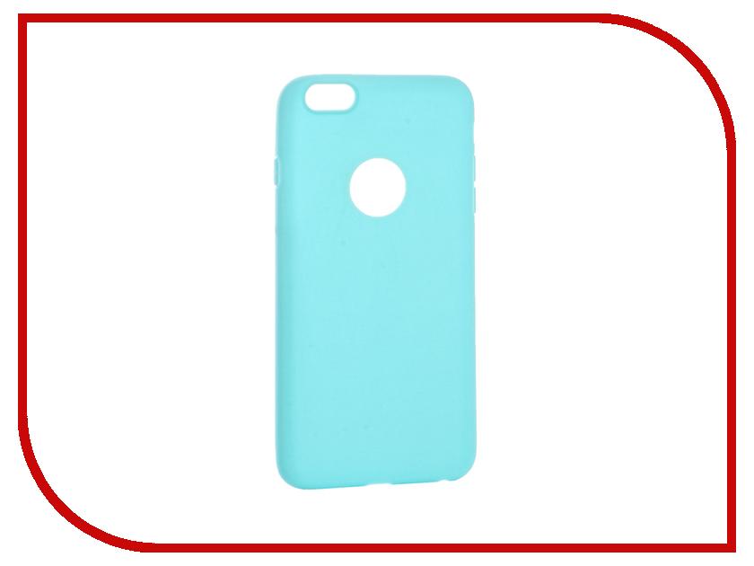 Аксессуар Чехол Krutoff Silicone для iPhone 6 Plus Green 11816 аксессуар чехол krutoff silicone для iphone 7 plus white 11830