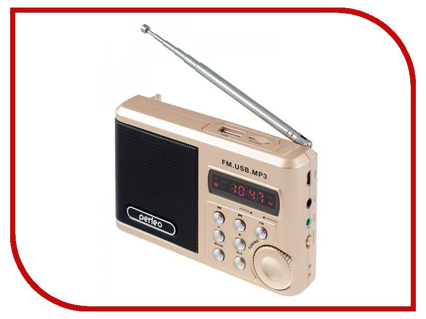 Радиоприемник Perfeo PF-SV922AU Gold perfeo base pf bas vlt violet