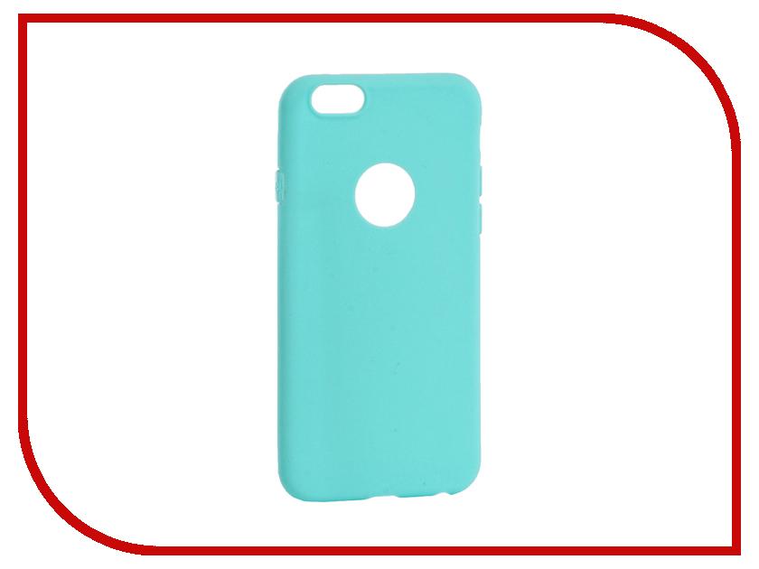 Аксессуар Чехол Krutoff Silicone для iPhone 6/6S Green 11807<br>