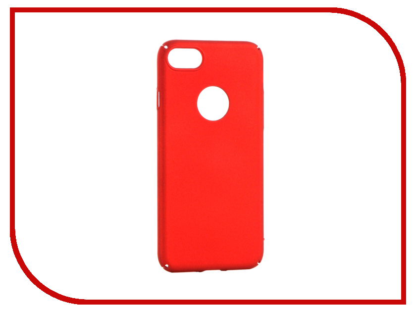Аксессуар Чехол Apres Hard Protective Back Case Cover для APPLE iPhone 7 Red защитный чехол pacha sunrise cherries hard case для iphone 5