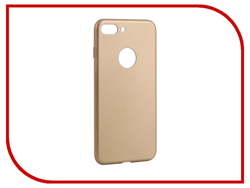 Аксессуар Чехол Apres Hard Protective Back Case Cover для APPLE iPhone 7 Plus Gold x level rubberized thin hard protective case for iphone 7 plus gold