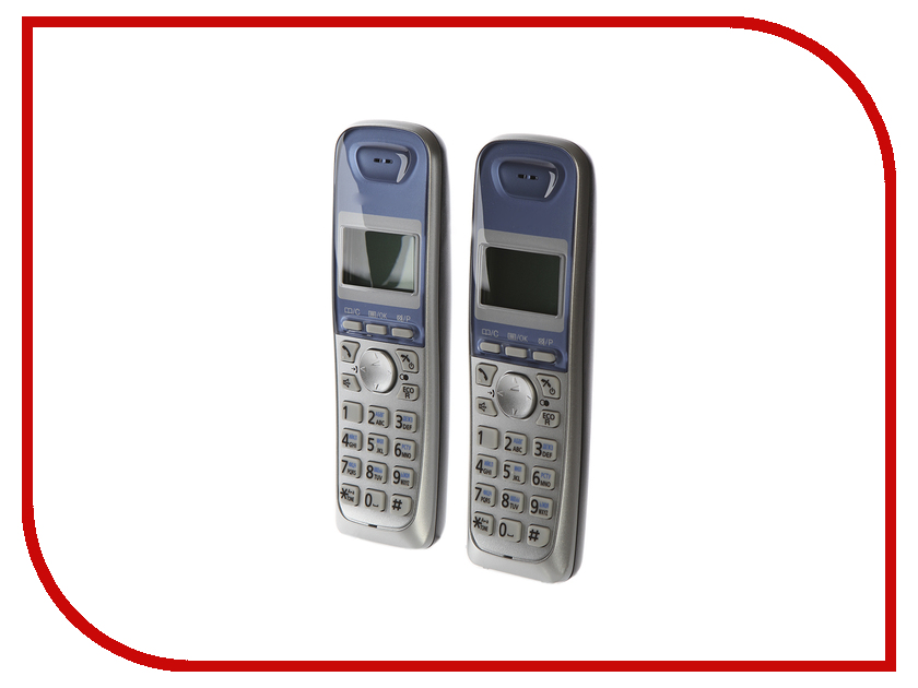 Радиотелефон Panasonic KX-TG2512 RUS panasonic kx tg2512rus dect phone additional handset included eco mode time date display communication between handsets