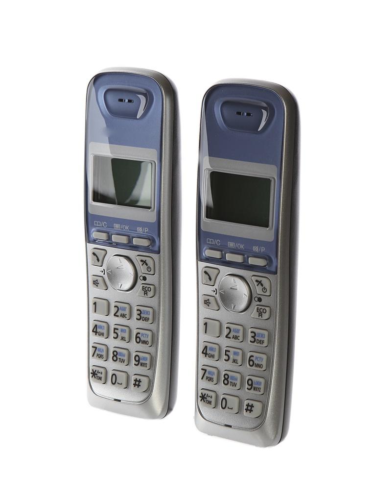 Радиотелефон Panasonic KX-TG2512 RUS радиотелефон dect panasonic kx tg2512rus серебристый