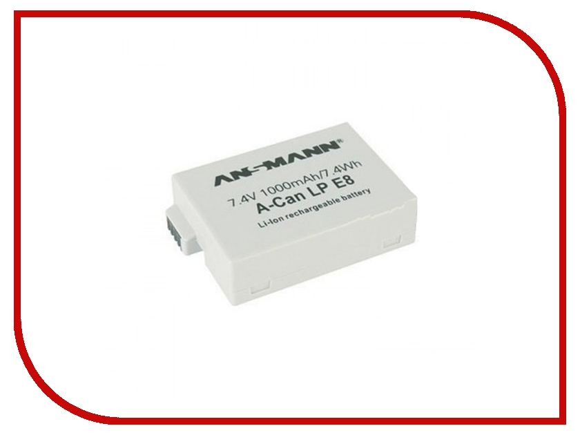 Аккумулятор Ansmann A-Can LP E8 5044853 BL1 батарейка cr2354 ansmann 1516 0012 bl1