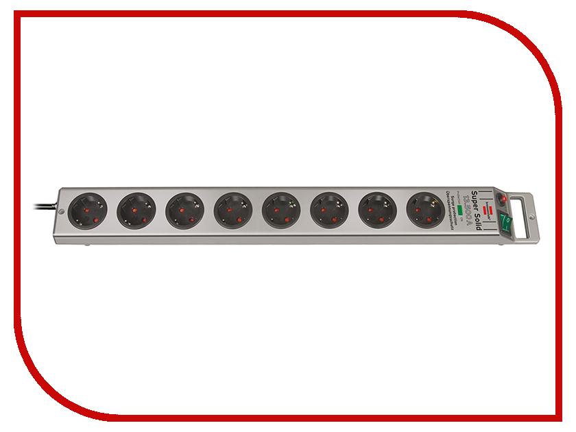Сетевой фильтр Brennenstuhl Super-Solid 8 Sockets 2.5m 1153340318<br>
