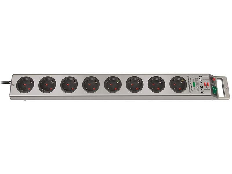Сетевой фильтр Brennenstuhl Super-Solid 8 Sockets 2.5m 1153340318 сетевой фильтр brennenstuhl secure tec 8 sockets 3m 1159490936