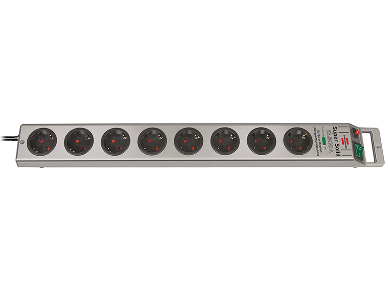 Сетевой фильтр Brennenstuhl Super-Solid 8 Sockets 2.5m 1153340318