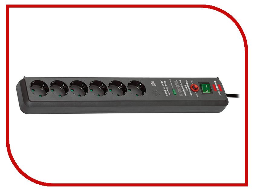 Сетевой фильтр Brennenstuhl Secure-Tec 6 Sockets 3m 1159540376<br>