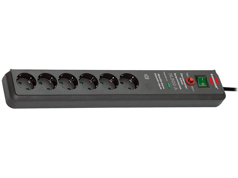 Сетевой фильтр Brennenstuhl Secure-Tec 6 Sockets 3m 1159540376