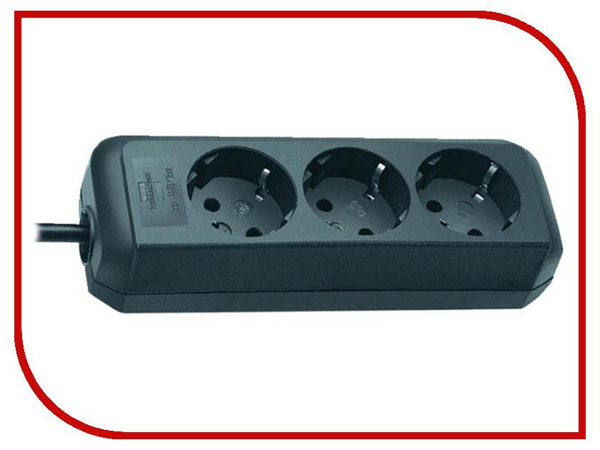 Удлинитель Brennenstuhl Eco-Line 3 Sockets 1.5m Black 1158620015 / 1158620075 удлинитель brennenstuhl eco line 1159540015