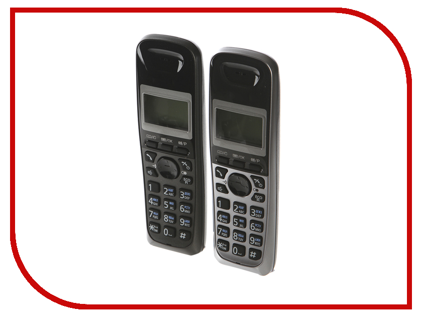 Радиотелефон Panasonic KX-TG2512 RU1 panasonic kx tg1711ruw