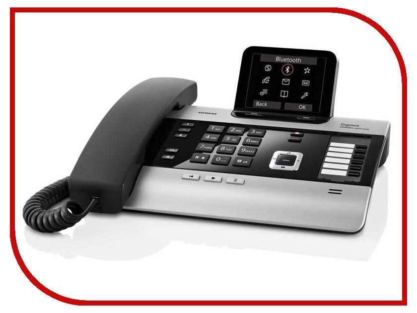 VoIP оборудование Gigaset DX800A voip оборудование gigaset a540h доп трубка