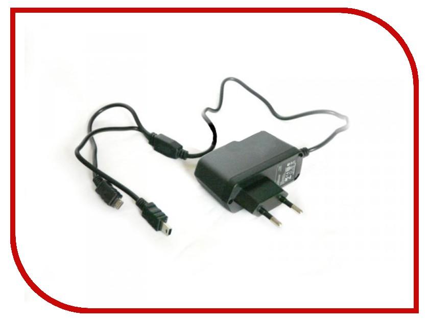 Зарядное устройство KS-is Mich CP0520, KS-003 miniUSB / microUSB 2000 mA сетевое