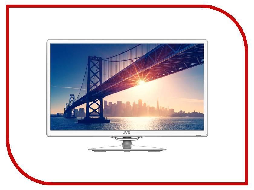 Телевизор JVC LT-24M440W camera battery charger cradle for jvc v408u v416u v428u ac 100 240v 2 flat pin plug