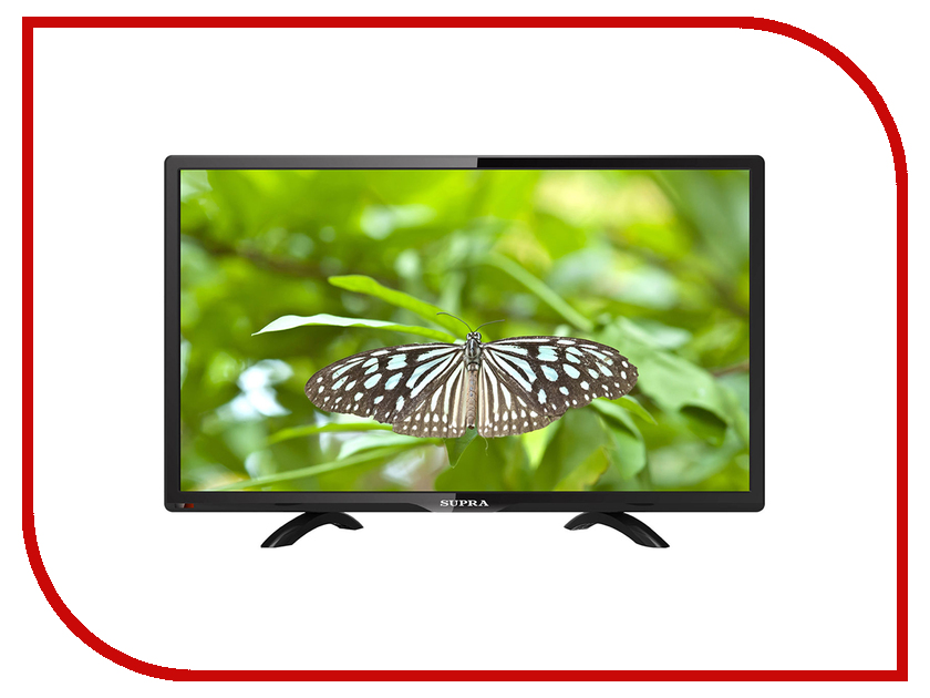 Телевизор SUPRA STV-LC24450WL шашлычницы supra шашлычница supra vgs 2103 1500вт