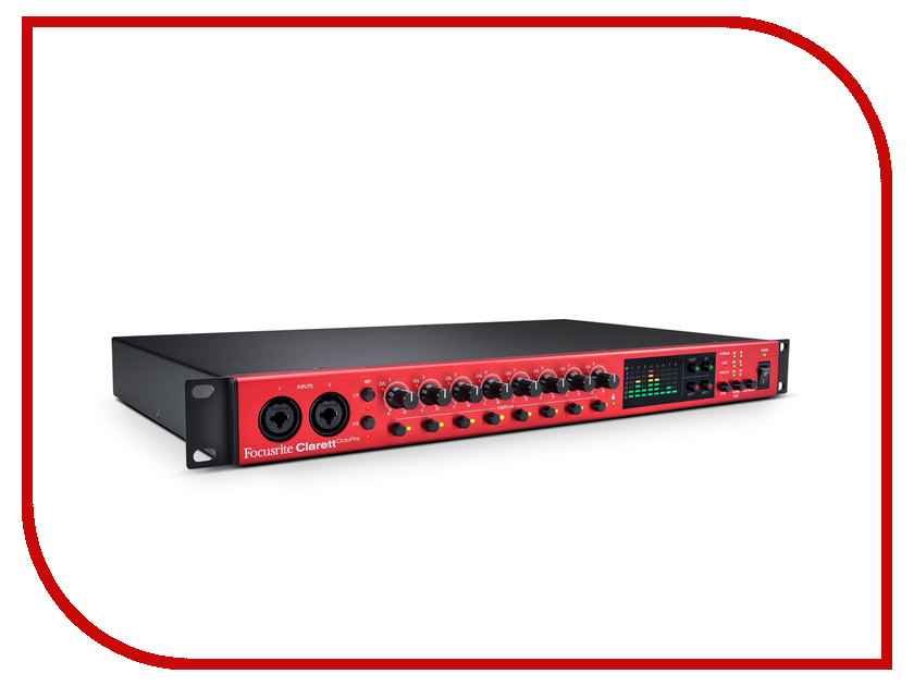 Аудиоинтерфейс Focusrite Clarett Octopre аудиоинтерфейс focusrite scarlett 18i8