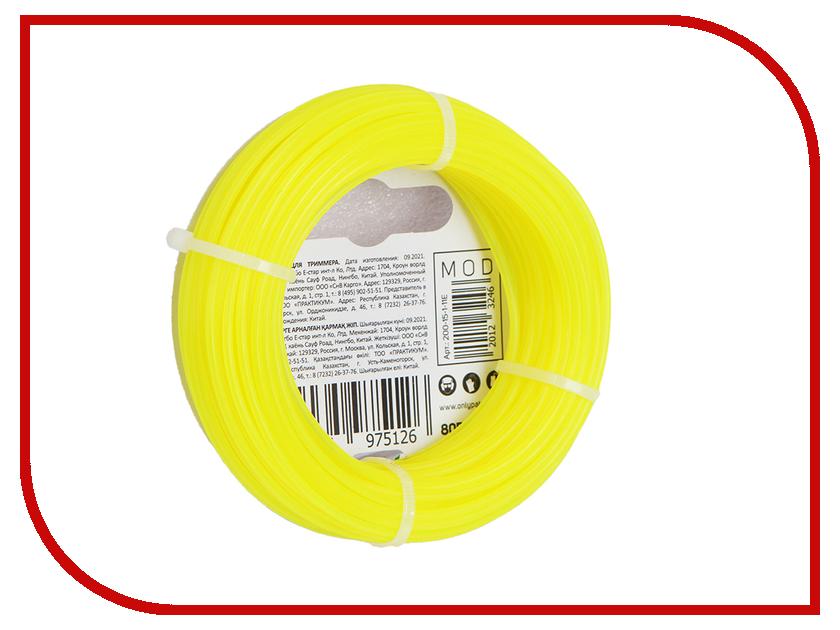 Аксессуар Леска для триммера Patriot Roundline 2mm x 15m 805201013 20mm x 2mm dual sided self adhesive shockproof sponge foam tape 5m length